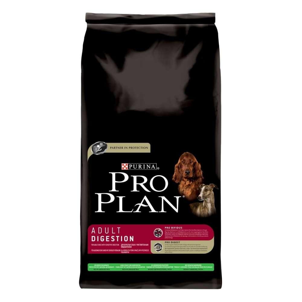 Purina Pro Plan Adult Digestion Lam & Rijst 14 kg