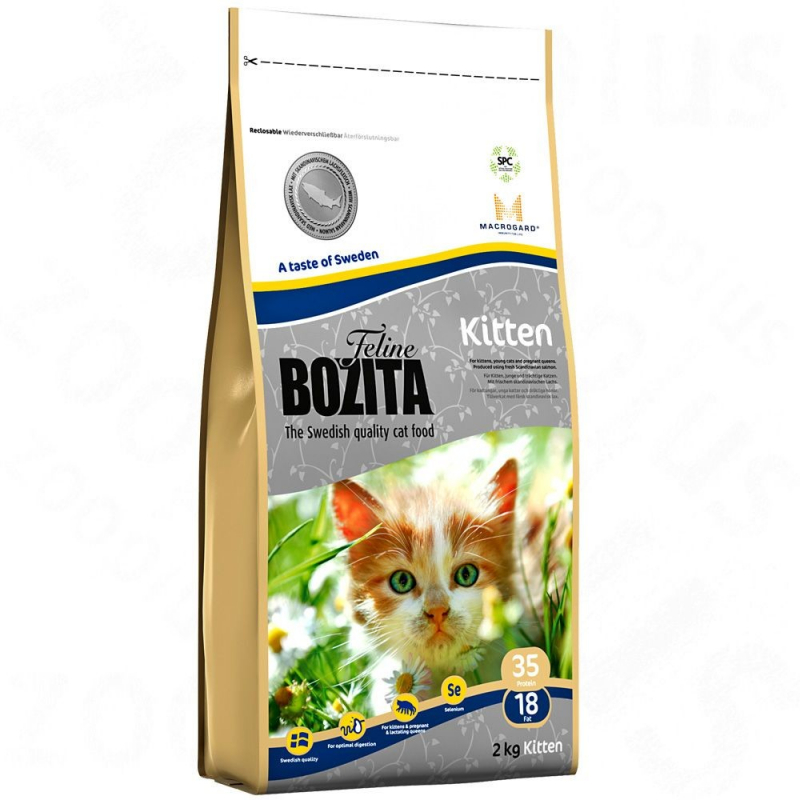 Bozita Feline Kitten 400 g, 2 kg, 10 kg