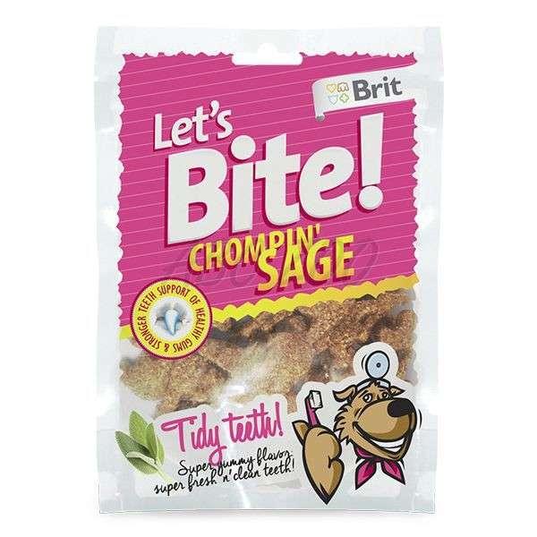 Brit Let's Bite Chompin' Sage 150 g køb rimeligt og favoribelt med rabat