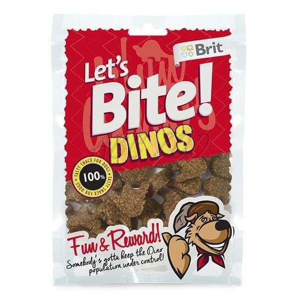 Brit Let's Bite Dinos 150 g köp billiga på nätet