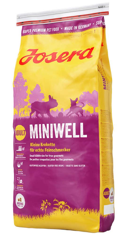 Josera Miniwell 1.5 kg, 15 kg, 4 kg, 900 g