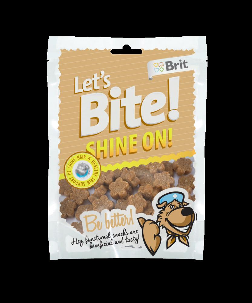 Brit Let's Bite Shine On! 150 g köp billiga på nätet