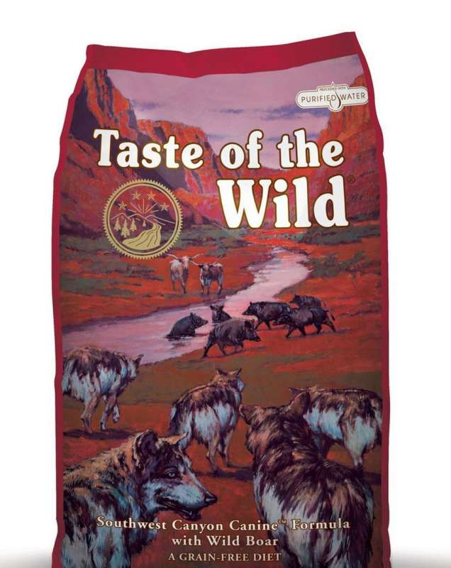 Taste of the Wild Southwest Canyon Vildsvin 2 kg, 13 kg