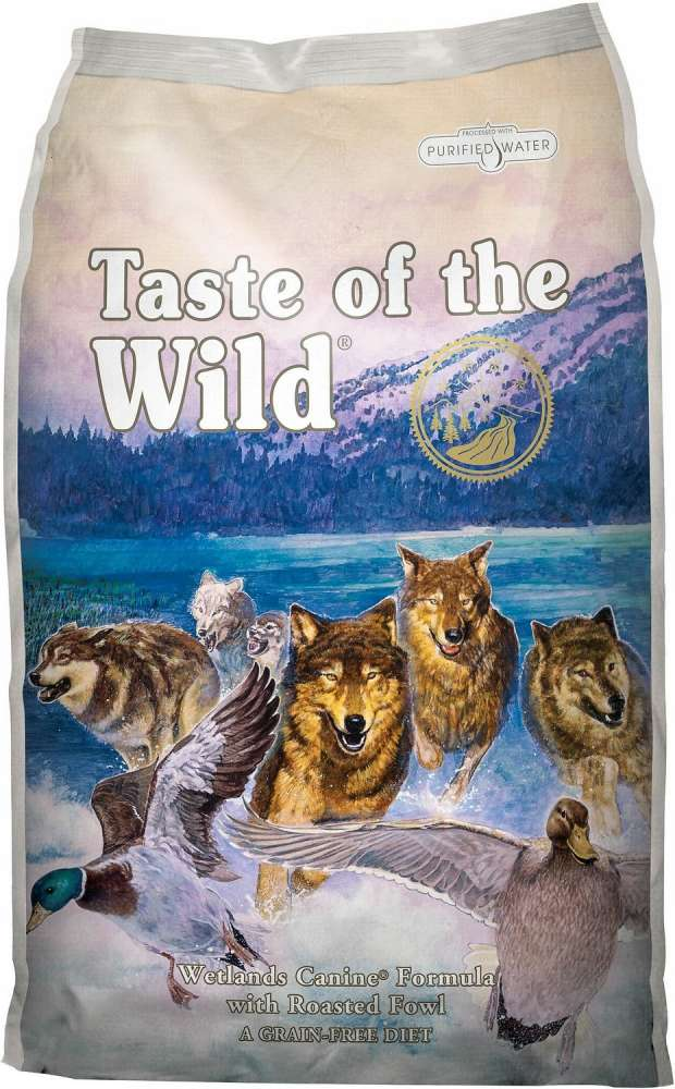 Taste of the Wild Wetlands Canine Formula con Pato Asado 2 kg, 13 kg