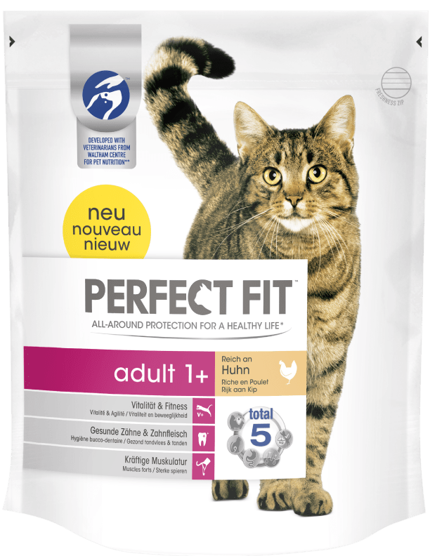 Perfect Fit Adult 1 + Rico en Pollo 1.4 kg