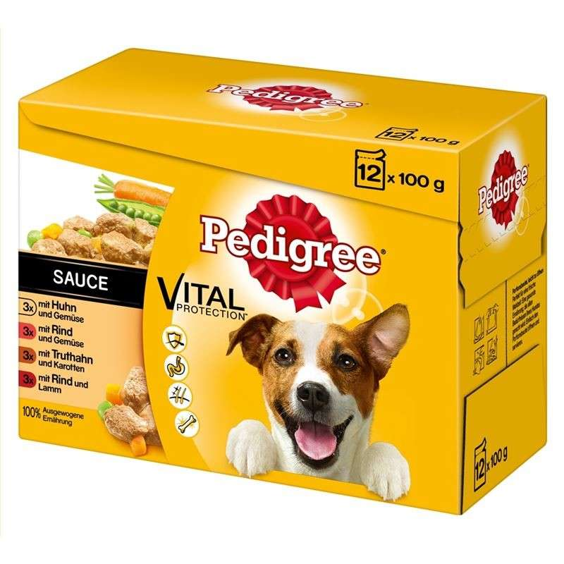 Pedigree Vital Protection Adult 12er Multipack in Sauce 12x100 g 5900951262692 opiniones