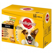 Pedigree Vital Protection Adult Lot de 12 en Sauce - EAN: 5900951262692