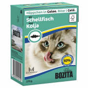 Bozita Chunks in Jelly with Haddock - Smaak 370 g