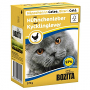 Bozita Chunks in Jelly with Chicken Liver - Taste 370 g