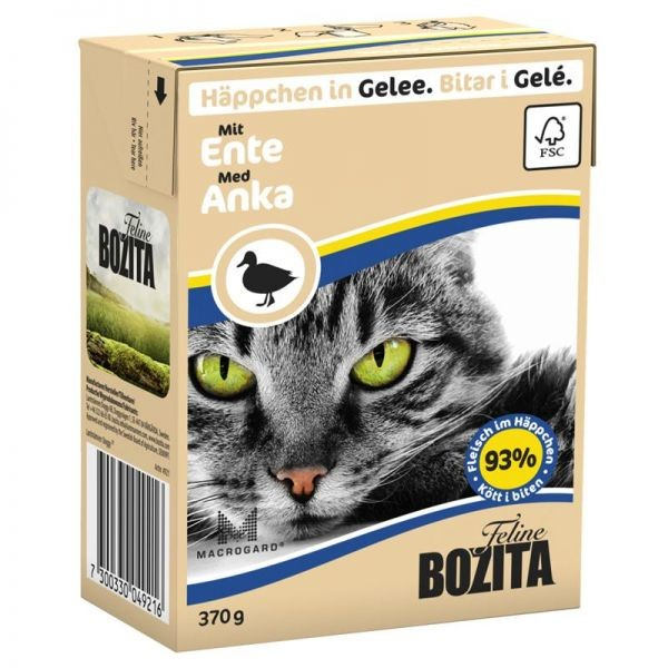 Bozita Chunks in Jelly with Duck 370 g
