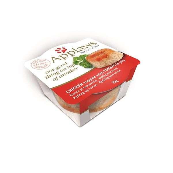 Applaws Cat Schale Kanaa & Tomaatti 70 g osta edullisesti