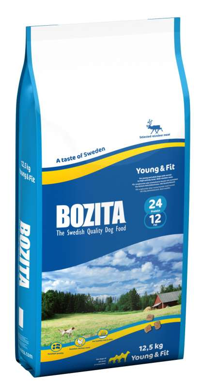Bozita Young & Fit 12.5 kg 7311030106437