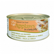 Applaws Cat Dose Hühnchen mit Makrele in Gelee 70 g