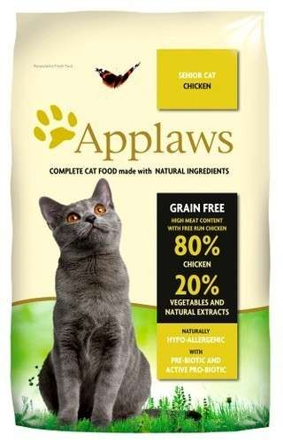 Applaws Complete Dry Cat Food Senior – Chicken EAN: 5060333435677 reviews