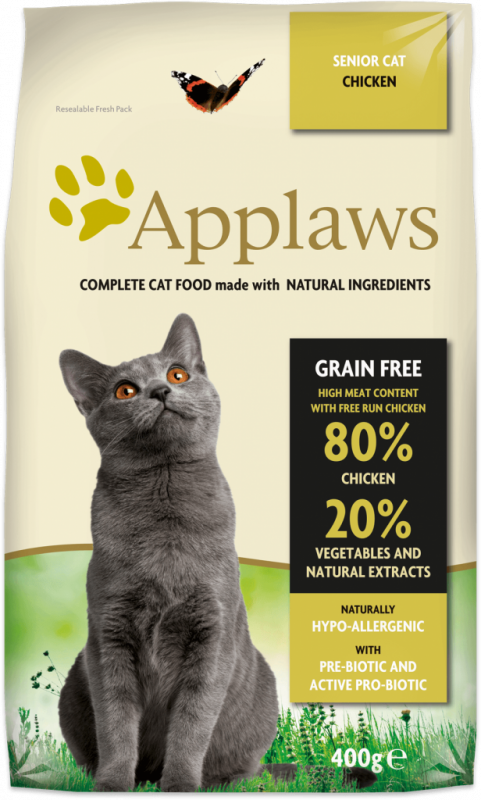 Applaws Complete Dry Cat Food Senior – Chicken 7.5 kg, 400 g, 2 kg buy online