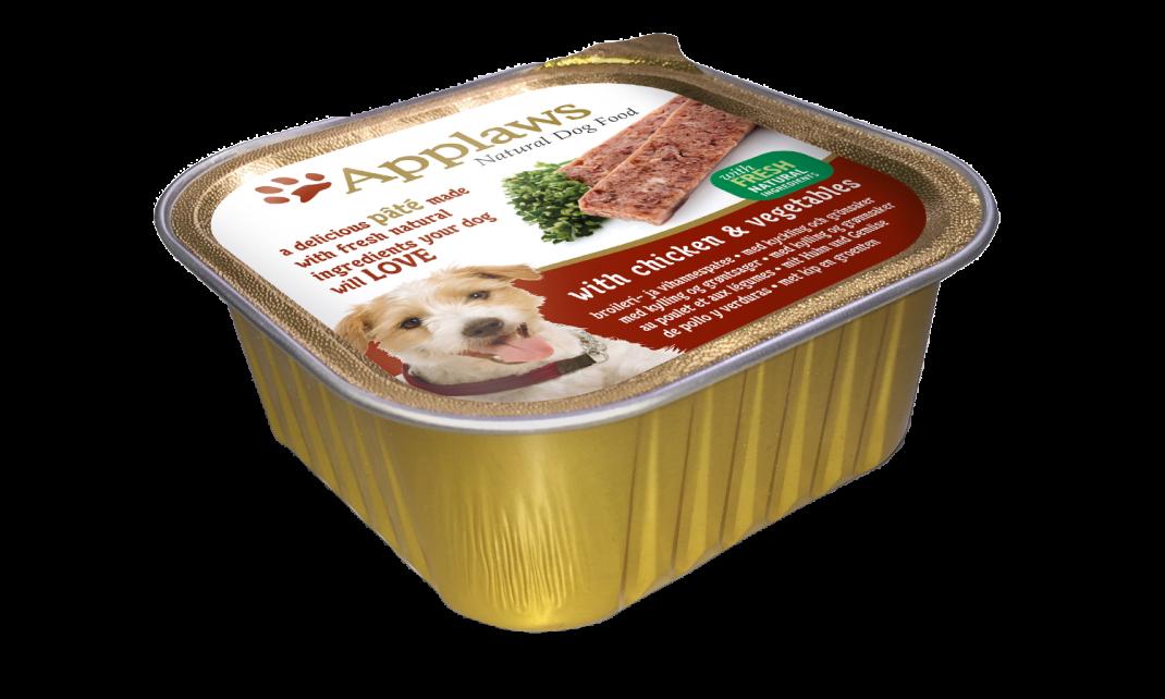 Applaws Dog Pate Kip & Groenten 7x150 g, 150 g