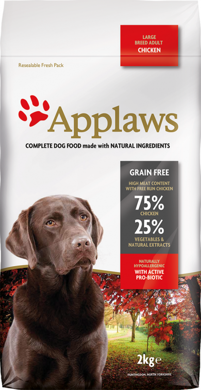 Applaws Adult Large Breed met Kip 2 kg