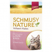 Nature Vollwert Flakes Pute & Reis 100 g