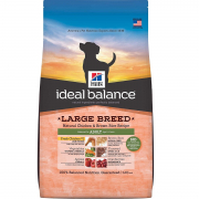 Ideal Balance Canine Adult Large Breed fersk Kylling og brun Ris 2 kg fra Hill's