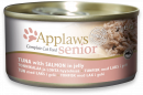 Applaws Senior Cat Food Tun & Laks i gele 70 g