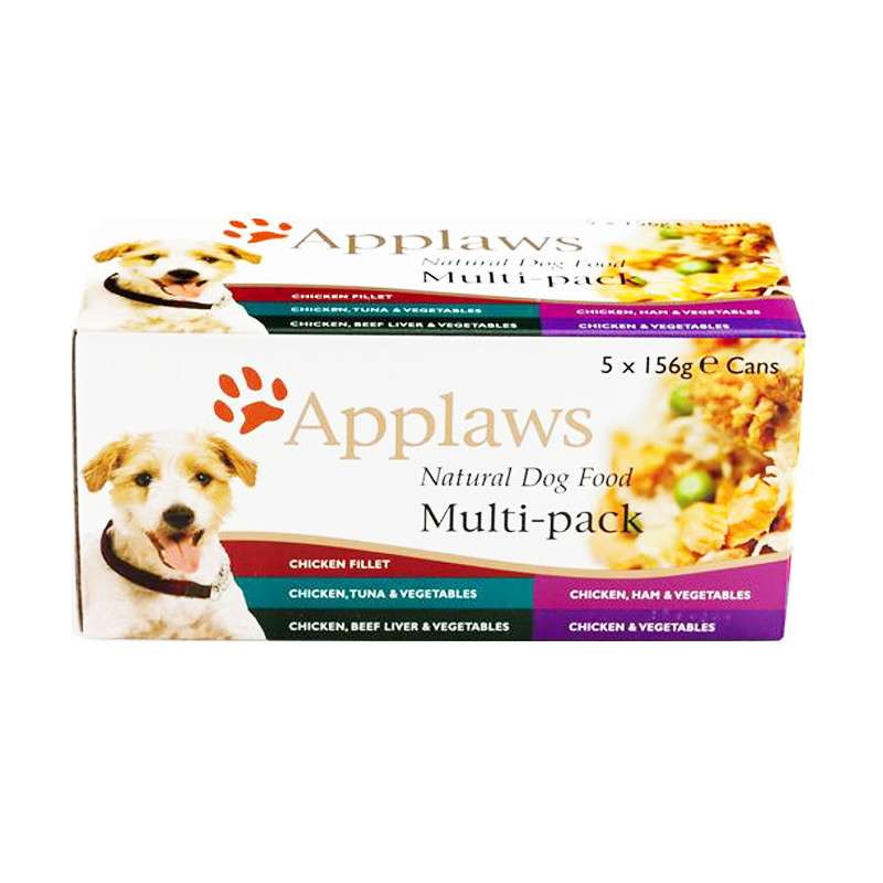 Applaws Natural Multi-pack 5x156 g