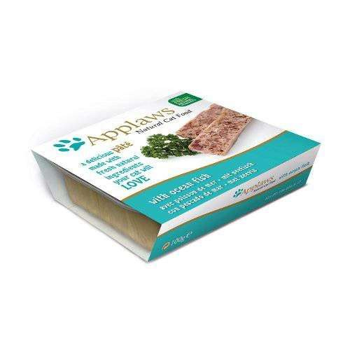 Applaws Cat Pâté with Ocean Fish 10x100 g