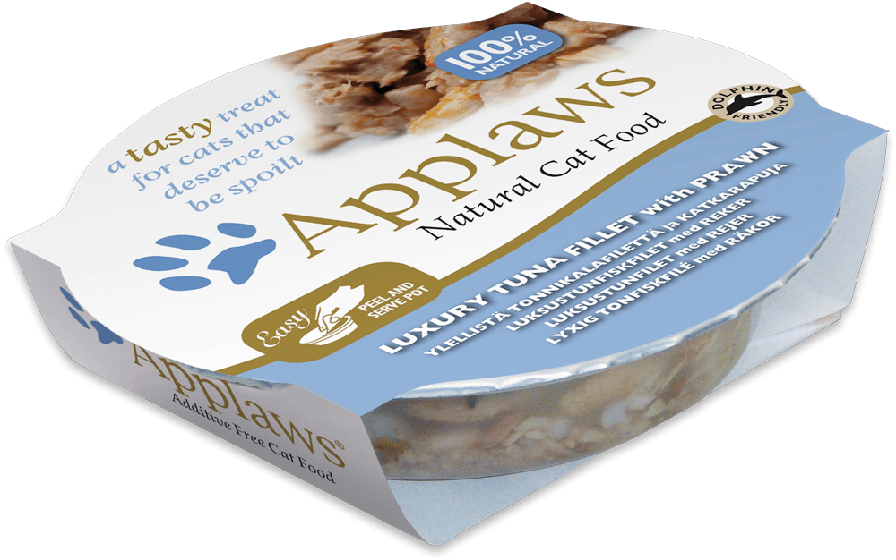 Applaws Cat Pots -Tonijnfilet & Garnalen 60 g 5060122496049