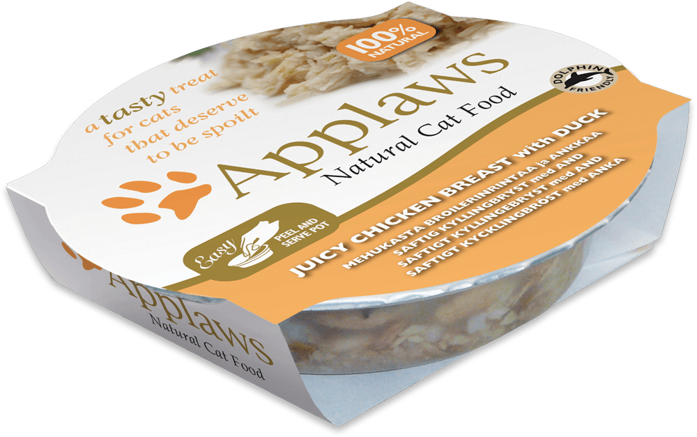 Applaws Cat Pots -  Kippenborst & Eend 60 g