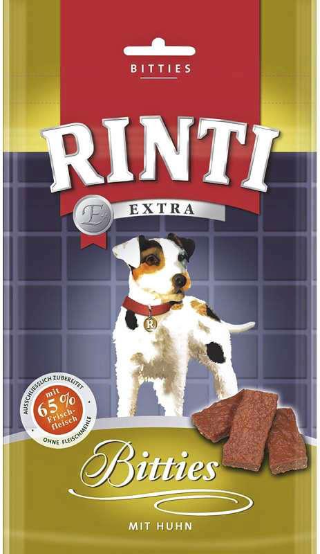 Rinti Bitties met kip 6x175 g