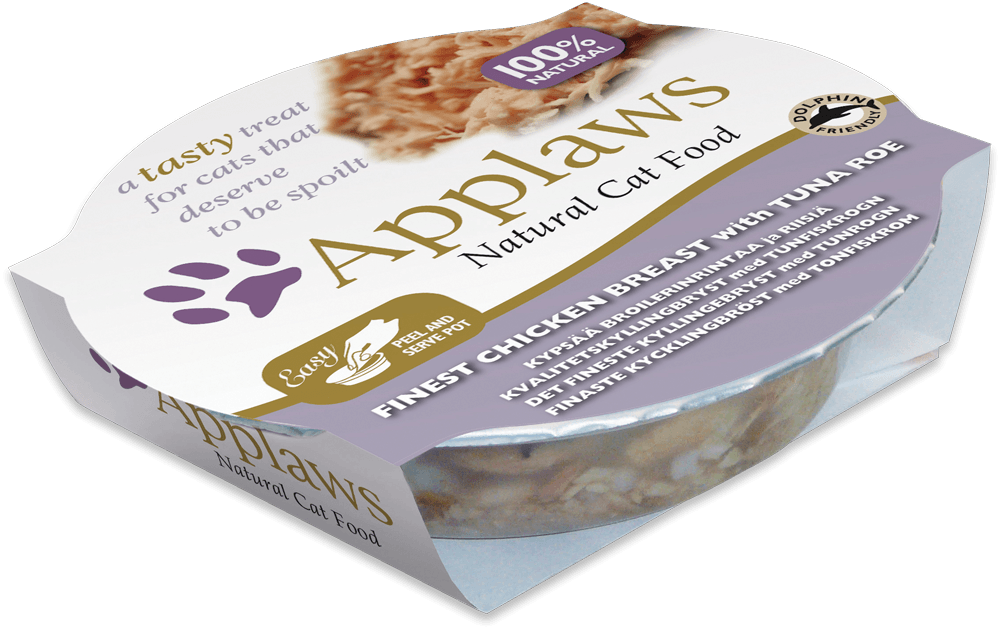 Applaws Cat Pots - Filet de poulet et œuf de thon 60 g