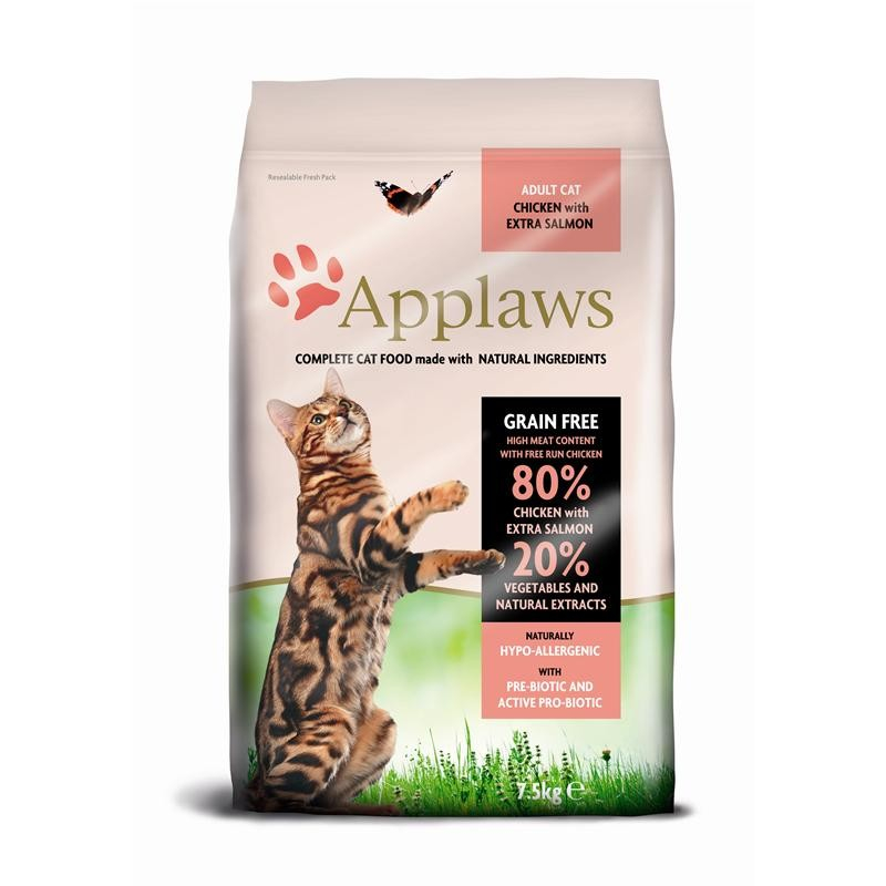 Applaws Adult – Pollo y Extra Salmón 7.5 kg 5060122497275 opiniones