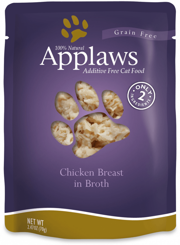 Applaws Chicken Selection in Caldo - Multipack 6x70 g