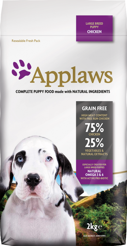 Applaws Puppy Large Breed Kip 15 kg, 2 kg, 7.5 kg