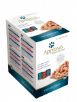 Applaws Frischebeutel Natural Cat Food Fisch Multipack in Brühe 12 Stück