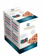 Applaws Pouches Natural Cat Food Fish in Broth Multipack 12x70 g