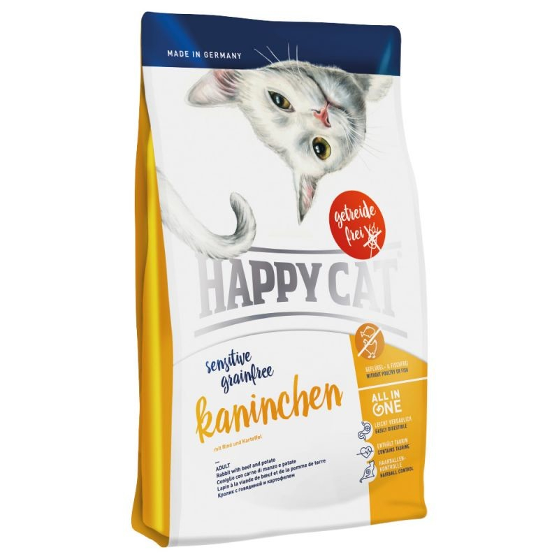 Happy Cat Sensitive Grainfree Kani Naudanlihan ja Perunan 300 g