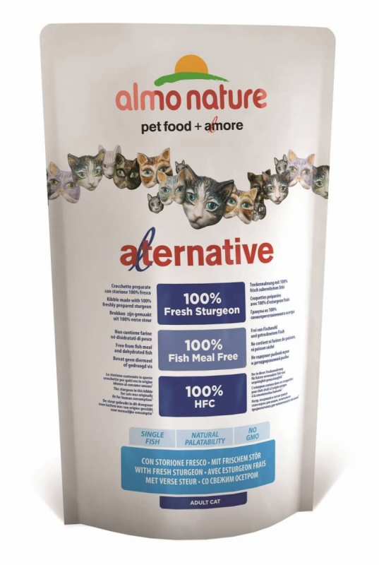 Almo Nature Alternative Dry Frischer Stör 750 g