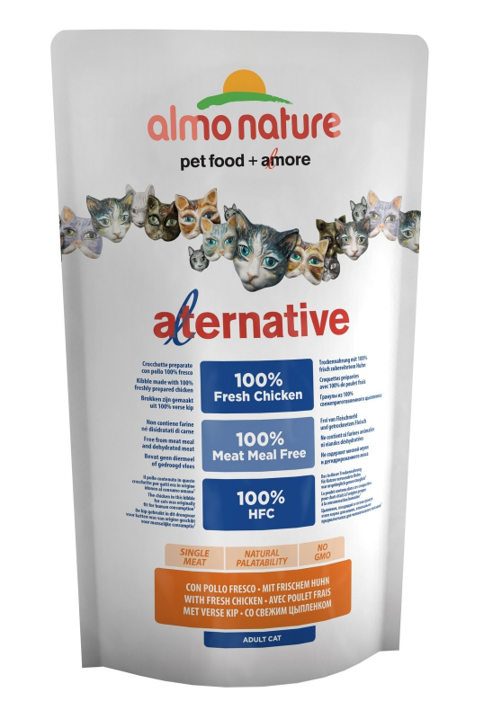 Almo Nature Alternative Frisches Huhn 2 kg, 750 g Test