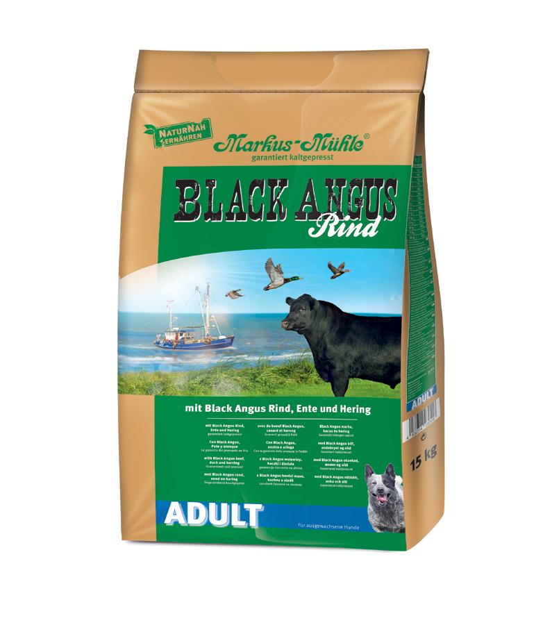 Markus-Mühle Black Angus Adult 1.5 kg, 15 kg, 5 kg kjøp billig med rabatt