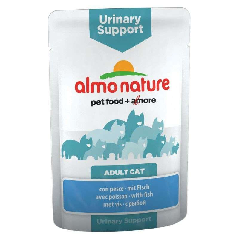 Almo Nature Urinary Support  - au poisson 70 g essay