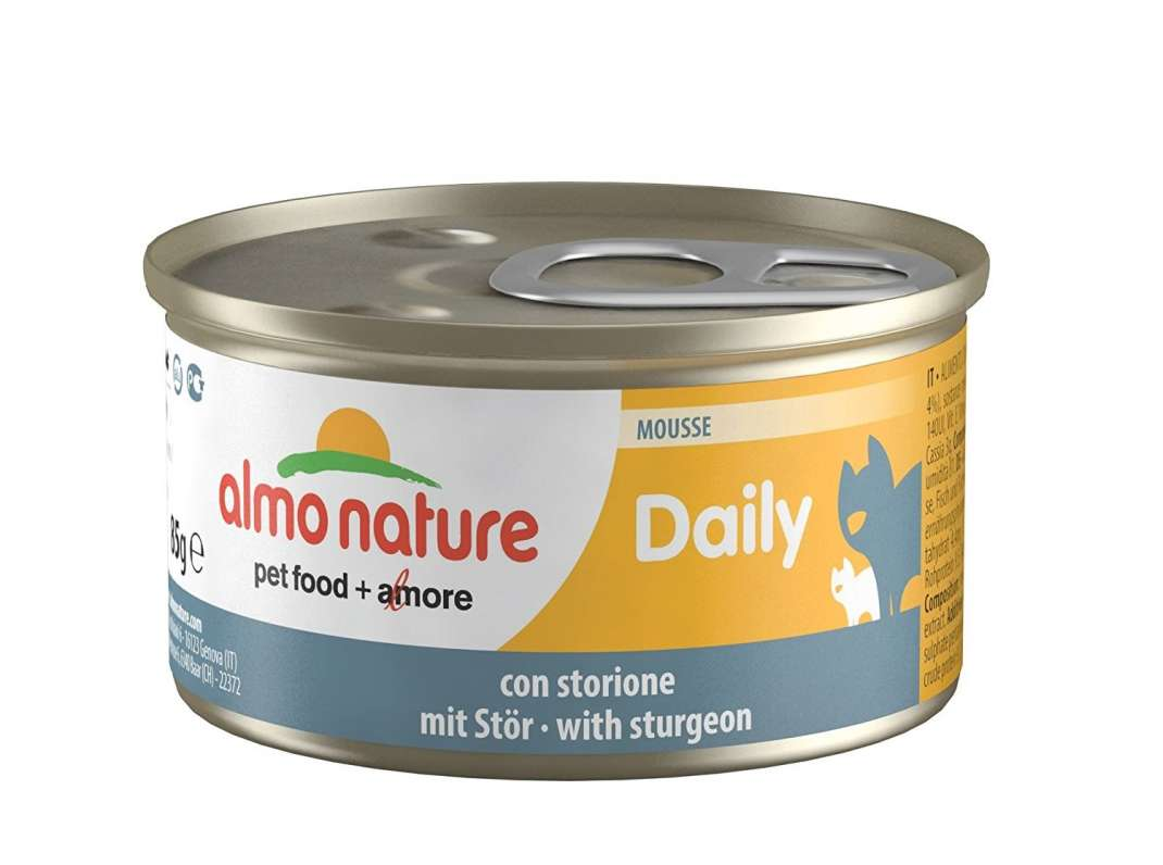 Almo Nature DailyMenu Mousse with Sturgeon 85 g buy online