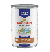 Single Protein Veal 400 g fra Almo Nature