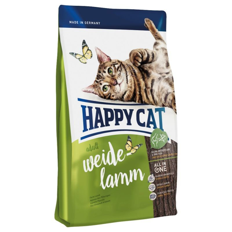 Happy Cat Adult Weide-Lamm 12 kg, 1.8 kg, 10 kg, 4 kg, 1.4 kg, 300 g test