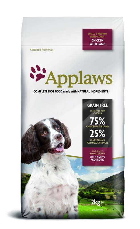 Applaws Small Medium Breed Adult Huhn mit Lamm 2 kg