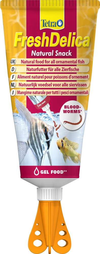 Tetra FreshDelica Bloodworms (tube) 80 g