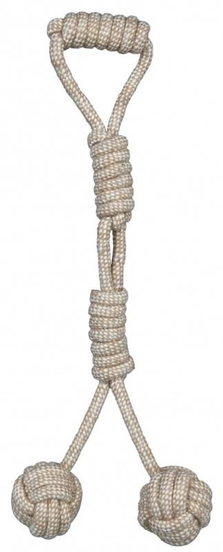 Trixie Flostouw met ingevlochten Ballen  ø 8/54 cm