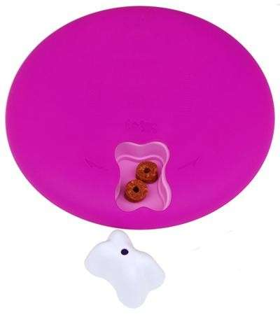 Nina Ottosson Dog/Cat  Spinny plastica Pink Azalea  acquista comodamente