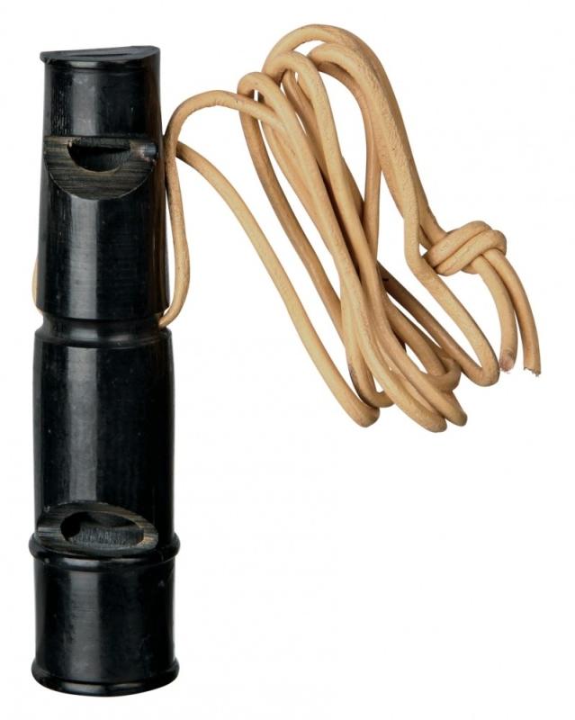Trixie Hondenfluitje van Buffelhoorn  9 cm