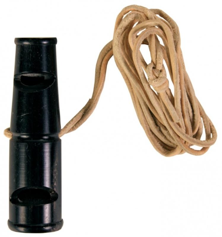 Buffalo Horn Whistle 6 cm  af Trixie køb rimeligt og favoribelt med rabat