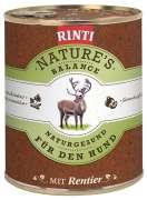 Rinti Natures Balance Rentier & Nudeln 800g